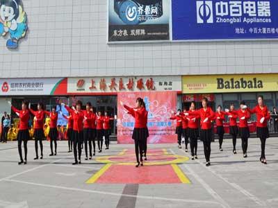 临朐赛区——胡梅涧村广场舞队《开门红》