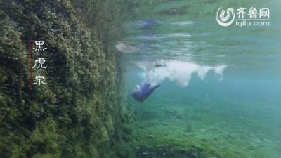 济南:水下看名泉