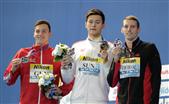 孙杨成功卫冕400自 中国游泳队拿下首金