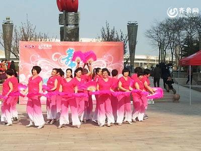 高密赛区——罗家庄健身队《中国美》