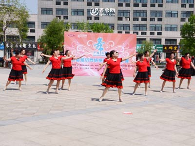 寒亭赛区——欣海花园舞蹈队《舞动中国》