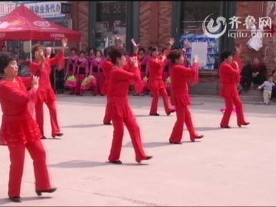 经济区赛区——茅埠舞蹈队《老板难当》