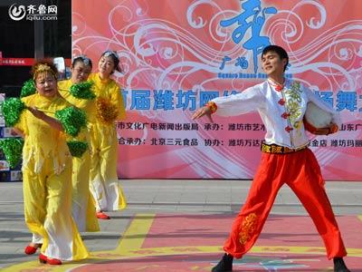 临朐赛区——玉芝舞蹈队《欢天喜地》