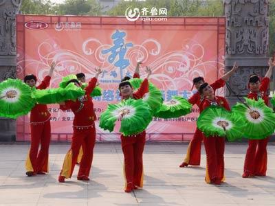 青州赛区——梦之缘舞蹈队《美好青州舞起来》