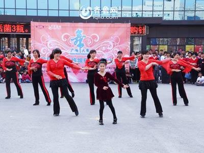 峡山赛区——于家屯舞蹈队《烟花三月下扬州》