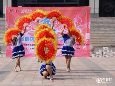 诸城赛区——南湖区孔戈庄社区红叶舞蹈队《中国美》