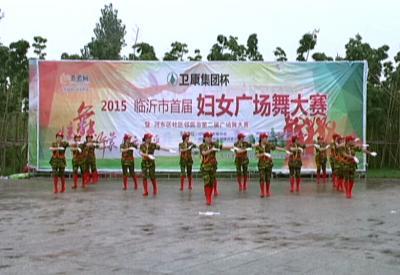 河东赛区——石碑屯王朝品广场舞蹈队《兵哥哥》