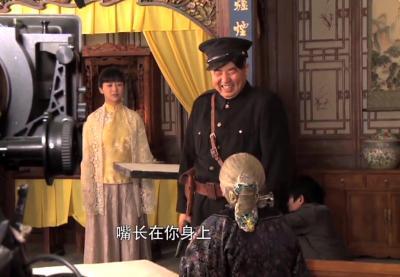 电视剧《大秧歌》片场花絮(二)
