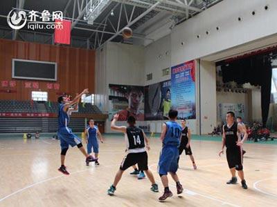 山东省消防部队第一届男子篮球比赛潍坊分赛区开赛