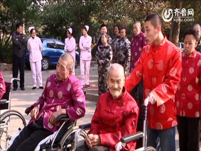奥迪尔义工走进潍坊社会福利院慰问老人