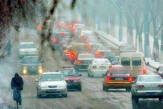 齐鲁网友情提示:雨雪天气路滑 外出注意安全