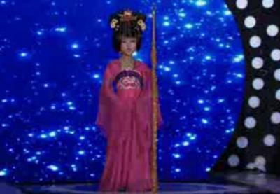 让梦想飞:小九儿变身娘娘,演绎《梨花颂》
