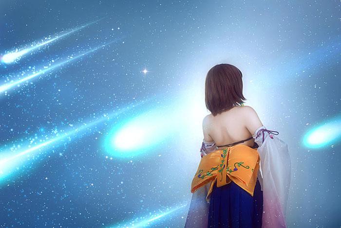 最终幻想10 尤娜,名曲MV版COS