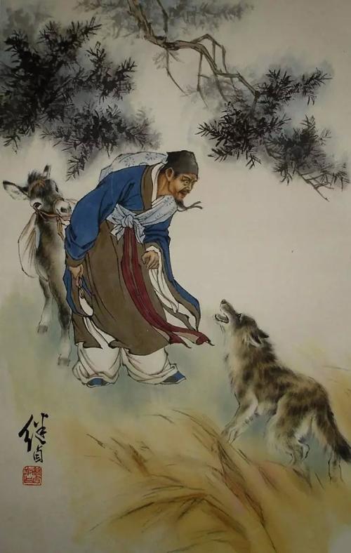 近代中国画坛的艺术大师---刘继卣中国画人物作品欣赏
