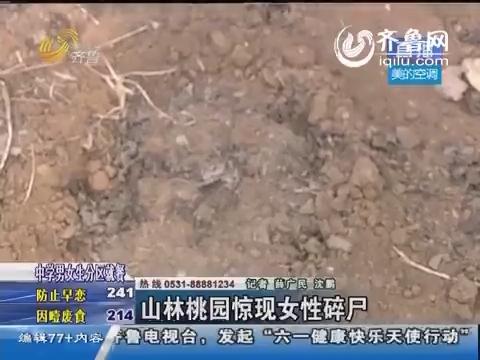 济南:山林桃园惊现女性碎尸