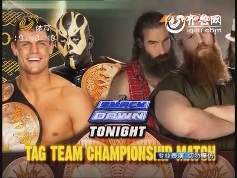 WWE美国经典摔跤秀:2014年首期SMACK DOWN