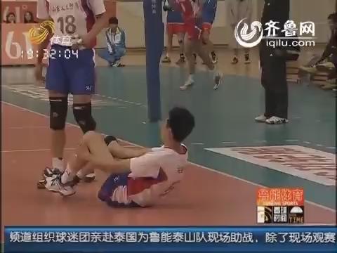 《看球时间》专访山东男排:取得历史最佳成绩却连训练费都没有!
