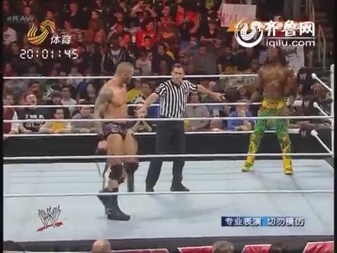 2014年3月24日《WWE》:美国经典摔跤秀 乌索兄弟霸气回归