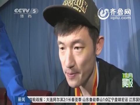 视频:直击北京夺冠更衣室场景 马布里掩面泣不成声