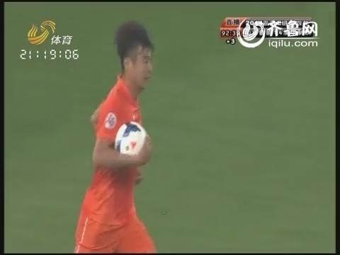 亚冠第4轮-山东鲁能2-4浦项制铁-刘彬彬传中韩鹏头球