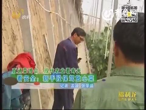 【直通菜博会·现代农业看寿光】看安全:新手段保驾放心菜