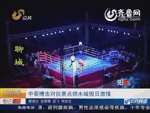 聊城:中泰搏击对抗赛点燃水城假日激情