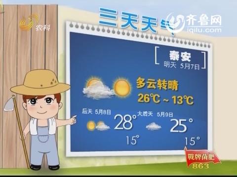 三天天气 说农谚