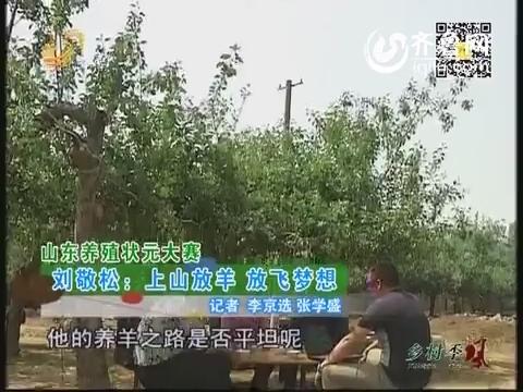 山东养殖状元大赛 刘敬松:上山放羊 放飞梦想