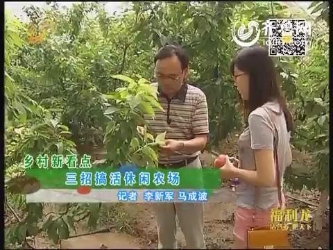 乡村新看点:三招搞活休闲农场