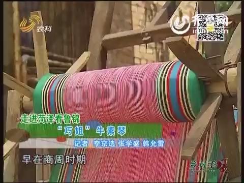 """走进菏泽看鲁锦 """"巧姐""""牛素琴"""