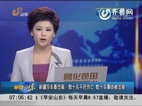 新疆莎车暴恐案:数十名平民伤亡 数十名暴徒被击毙
