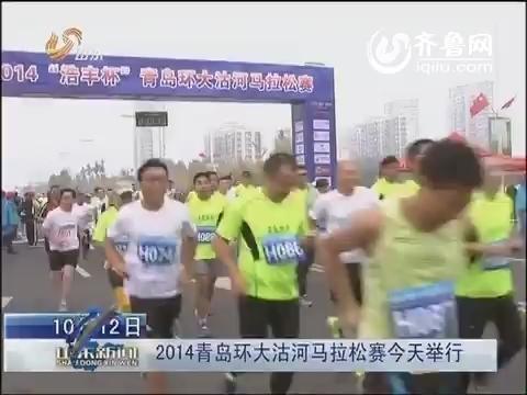 2014青岛环大沽河马拉松赛10月12日举行