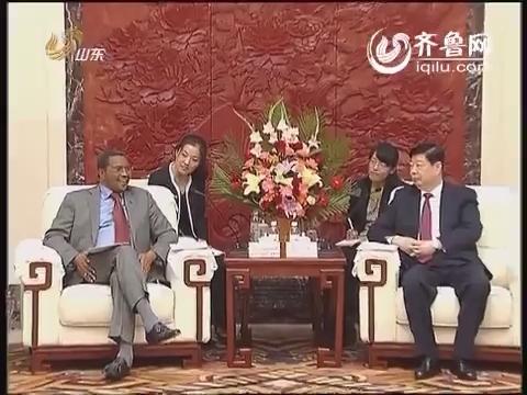 姜异康会见坦桑尼亚总统基奎特