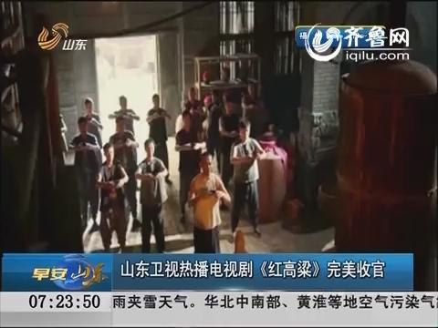 山东卫视热播剧《红高粱》完美收官 收视率创历史最高