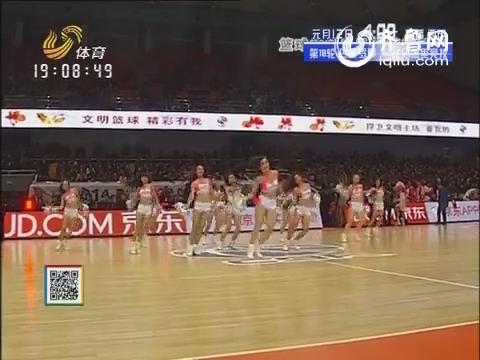 《山东高速篮球拉拉队选拔赛》:张西然和秦艺