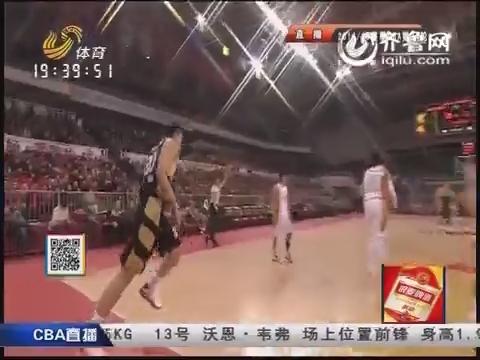 2014-15CBA第34轮-山西男篮106-104山东男篮 第一节实况