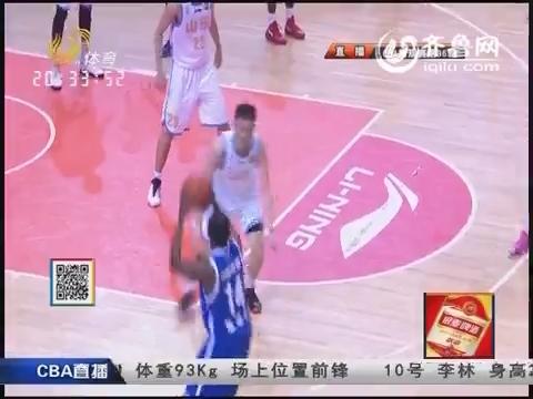 2014-15赛季CBA第36轮 山东高速89-93辽宁药都本溪 第三节比赛实况