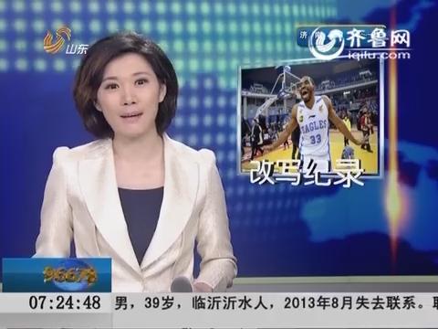 CBA季后赛:青岛3:0横扫山西 半决赛对辽宁
