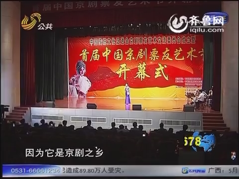 【票友艺术节】梨园盛会共献艺 京腔京韵醉临清
