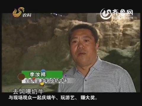"""金领农民:李汝祥 """"人性化""""养牛"""
