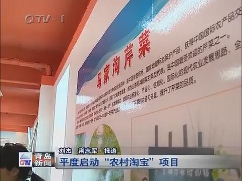 """青岛平度启动""""农村淘宝""""项目"""