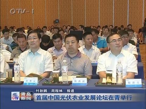首届中国光伏农业发展论坛在青岛举行