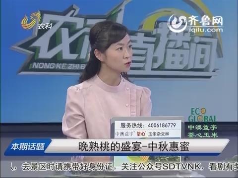 20151022《农科直播间》:晚熟桃的盛宴—中秋惠蜜