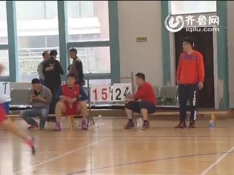 济南现代物流协会组织开展篮球对抗赛