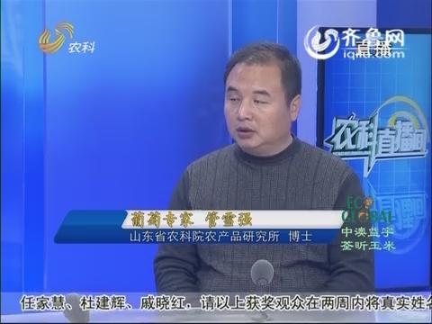 20151109《农科直播间》:葡萄专家 管雪强
