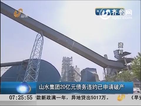 山水集团20亿元债务违约已申请破产