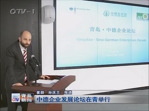 中德企业发展论坛在青举行