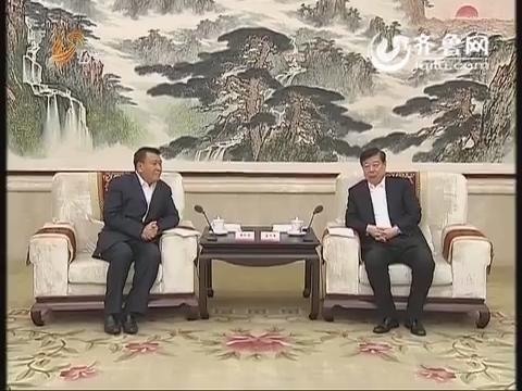 北汽宝雅新能源汽车项目签约:姜异康会见徐和谊一行 郭树清出席签约仪式